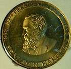 Peace Corps 1961 1971 Commemorative Bronze Coin Medal