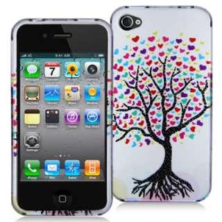 iphone 4 case,iphone 4 designer case,iphone 4 Love Tree Case