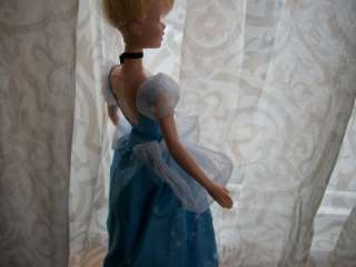 LIGHT UP CINDERELLA Disney barbie DOLL dress gown