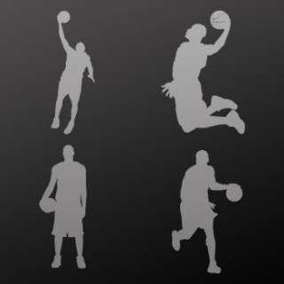 Decal Sticker Basketball Player Car Window ZEZZ3