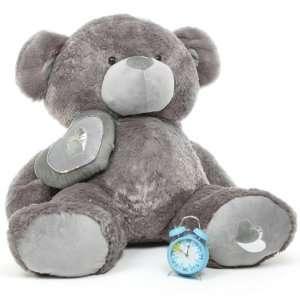 Huge Soft Plush Valentine Teddy Bear   47   Snuggle Pie Big