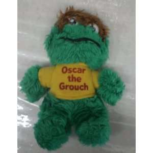 Vintage Knickerbocker Oscar the Grouch 8 Big Bird Plush