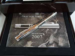 FOUNTAIN PEN FABER CASTELL PEN OF THE YEAR 2007