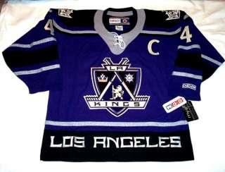 ROB BLAKE   size LARGE   Los Angeles Kings CCM 550 3rd Style Hockey
