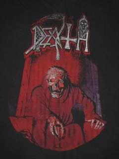 1987 DEATH SCREAM BLOODY GORE ORIGINAL VINTAGE T SHIRT METAL tour