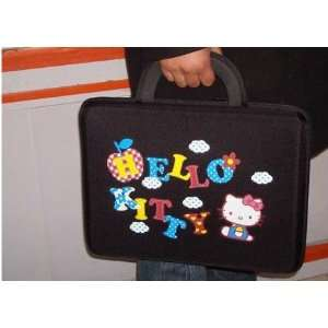 com 14 inch Lovely Black Hello Kitty Hard Case Style Laptop Case/Bag