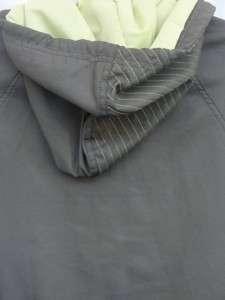 BROOKLYN INDUSTRIES Mens Army Green Windbreaker Jacket XL