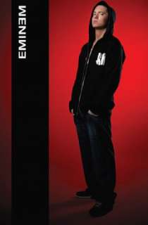 EMINEM Hoodie POSTER Marshall Mathers Slim Shady NEW