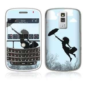 Modern Super Woman Decorative Skin Decal Cover Sticker for BlackBerry