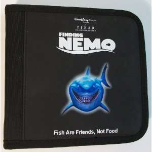 Finding Nemo (Bruce the Shark) 12 Disc CD Folder Black