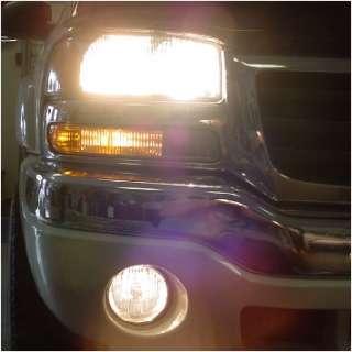 03 05 06 07 GMC SIERRA HEAD & FOG LIGHT HIGH BEAM KIT