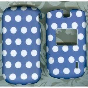 BLUE POLKA DOT CASE PHONE COVER VERIZON LG VX5600 ACCOLADE