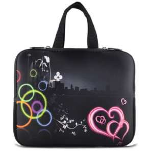 Black Stylish City 15 Laptop Notebook Bag Case Cover For 15.6 Dell