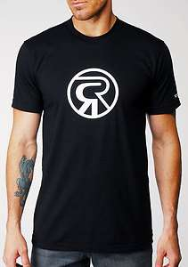 Rock and Republic Bianca R Logo Black T shirt (Large)