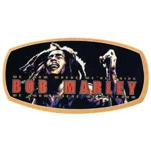 Bob Marley   Live Label Decal Automotive