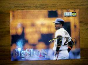 1997 COLLECTORS CHOICE BARRY BONDS BIG SHOTSGOLD $24