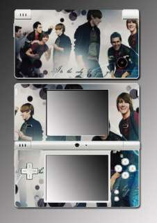 Big Time Rush BTR James Logan Game Skin #2 Nintendo DSi