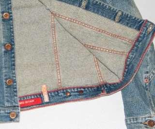 womens Big Star jean Denim Jacket Stretch Jacky M Medium