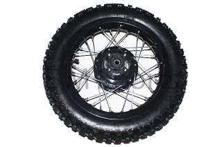 Dirt Pit Bike Rear Wheel Tire Parts 110 125cc Coolster