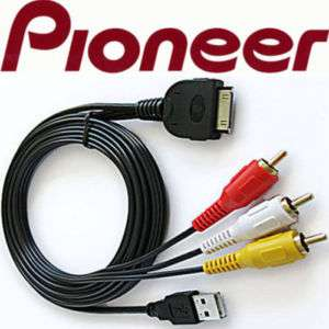 PIONEER CD iU230V iPOD iPHONE iTOUCH NANO ADAPTER CABLE