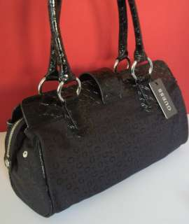 NEW GUESS Black Primary Handbag Bag Purse with Wallet + Checkbook 3 PC