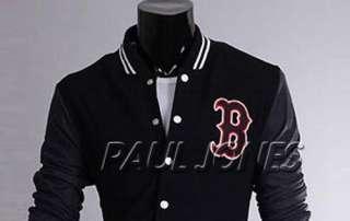 New York B Logo Baseball Jackets Coats Outerwear For Men Uniform