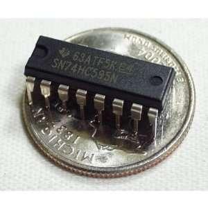 Shift Register 8 Bit   74HC595 Electronics