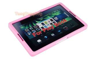 Pink Silicone Skin Case Cover For Blackberry PlayBook