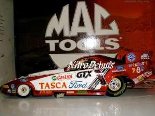 NHRA JOHN FORCE 124 Diecast TASCA Funny Car MAC TOOL