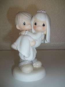 Precious Moments Figurine  Bless You Two, Collectable