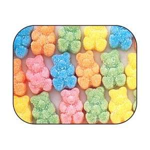 Beeps Bright Gummi Gummy Bears Candy 1 Pound Bag:  Grocery