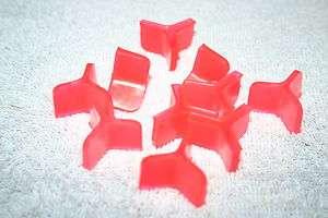 PACK OF TEN HOOK BONNETS FOR SIZE 1/0, 2/0 TREBLE HOOKS