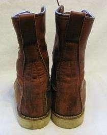 Vintage Red Wing Irish Setter Boot Men sz 11 a Moc Toe Crepe Sole