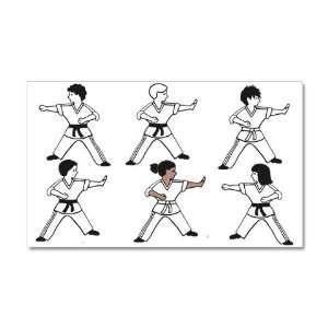 Karate Kids Set 2 Wall Decal