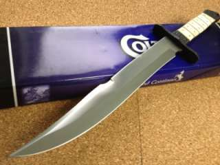 New Colt Bone Handle Pig Sticker Bowie Hunting Knife CT445