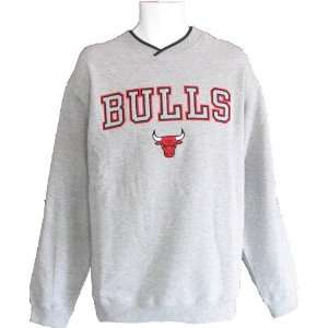 Bulls Sweatshirt   Chicago Bulls Fan Gear Crew Neck