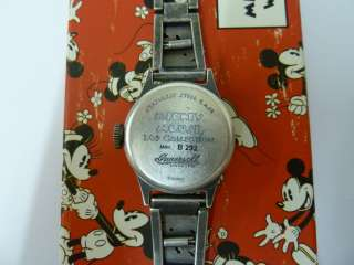 Ingersoll/Disney Mickey Mouse Wrist Watch   Official Reissue 2011