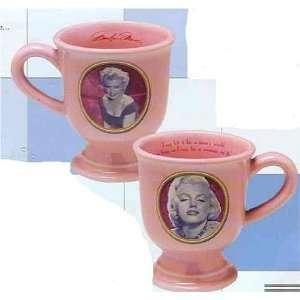 Marilyn Monroe Pink Pedastal Mug