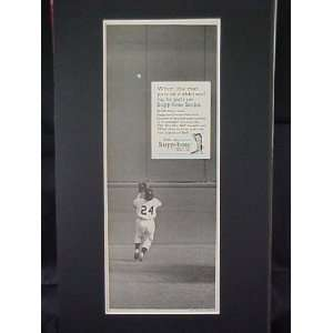 Mays San Francisco Giants Famous Catch 1954 World Series Supp Hose
