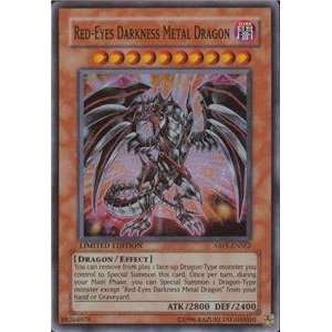 Red Eyes Darkness Metal Dragon Super Rare: Toys & Games