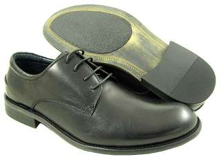 NEW Steve Madden Mens Bryar Black Leather Shoes US Sizes