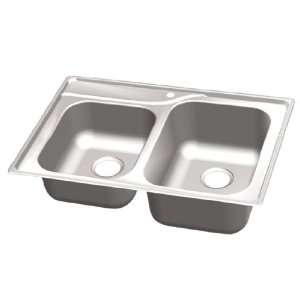 WELLS T203A GREAT LAKES TOP MOUNT STAINLESS STEEL SINK