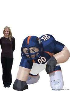 Denver Broncos NFL Bubba 5 Ft Inflatable Football Player