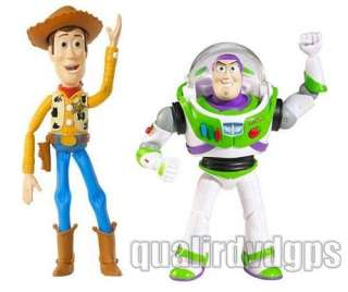 2PCS/LOT 6 Woody & Buzz Lightyear Figure Dolls Toy Story 3 Best gift