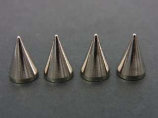10mm Cone Screwback Spikes Dog Spike Stud 10sets High Quality Solid