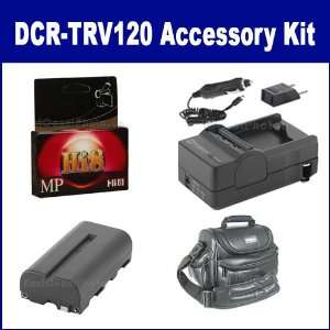 Sony DCR TRV120 Camcorder Accessory Kit includes HI8TAPE Tape/ Media