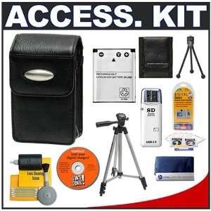 Cameta Bonus Kit for Pentax Optio V10, M30, M40 & T30 Digital Cameras