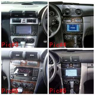 2004 07 Mercedes Benz C class W203 Car GPS Navigation Radio ISDB T TV