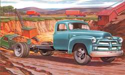 1954 Chevrolet Blue TRUCK CAB & CHASSIS Dealer Promo PC