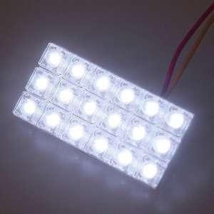 Car Auto 18 LED Dome Door Box Light Lamp Bulbs White